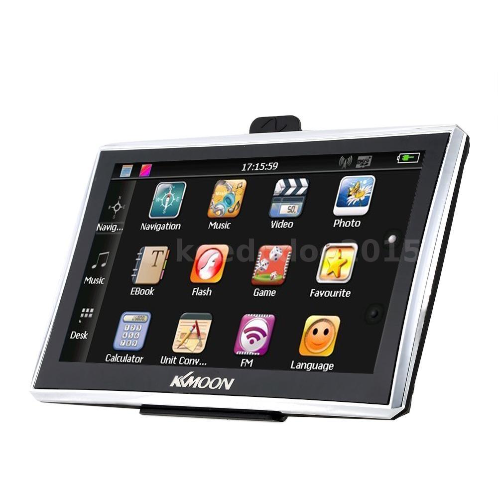 7 39 39 zoll touch screen pkw auto gps navi navigation navigationsger t europa map ebay. Black Bedroom Furniture Sets. Home Design Ideas